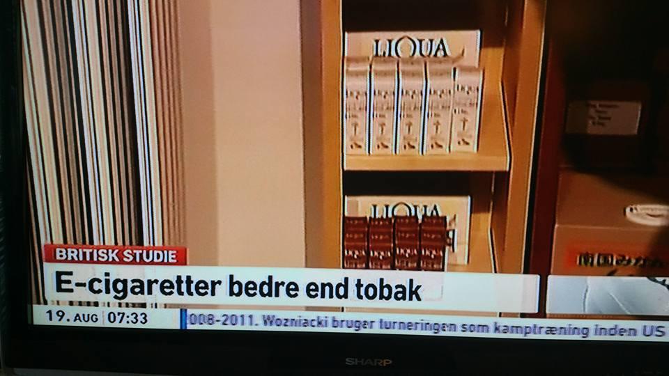 E-cigaretter bedre end tobak